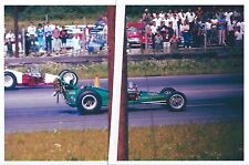 1960s Drag Racing-Hilborn Injected Small Block Chevy-B/Dragster-ISLAND Dragway