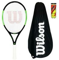Wilson Blade Pro 105 Graphite Tennis Racket + Cover + 3 Balls RRP £180
