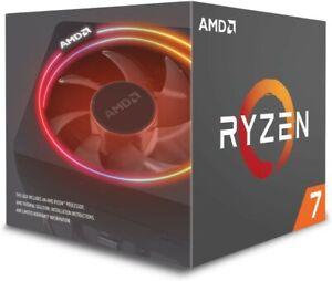 AMD YD270XBGAFBOX Ryzen 7 2700X Processor with Wraith Prism RGB LED Cooler