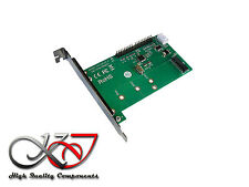 "Convertisseur adaptateur M.2 (M2 NGFF) type SATA vers IDE 3.5"" 40 broches"