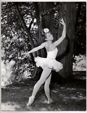 Claudie Jacquelin French Ballerina ballet dancer Orig Photo Paris France Agency
