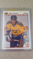 1991 - 1992 Upper Deck Nicklas Lidstrom Detroit Red Wings #26 Hockey Card