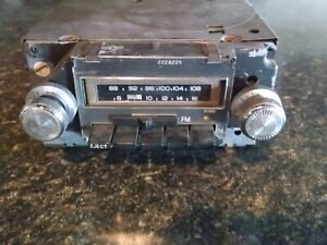 Guaranty Eight Track 73 74 GM AM/FM Stereo Radio Eight 8 Track & GMC, Chevelle,