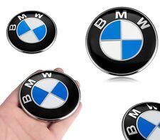 STEMMA BMW ORIGINALE COFANO 82 MM LOGO EMBLEMA FREGIO BADGE 3M 82MM PORTELLONE