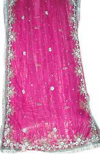 Seller Special Discount Bollywood Wedding NET Sequin Sari Saree Belly Dance ROBE