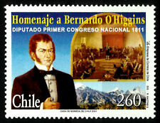 CHILE, BERNARDO O´HIGGINS, MNH, YEAR 2001