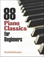 88 Piano Classics for Beginners (Dover Music for Piano)