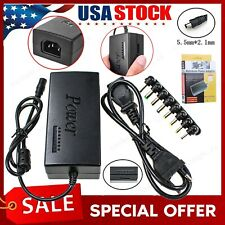 Adjustable 12-24V Universal Power Supply 96W Notebook Laptop Charger Adapter Us