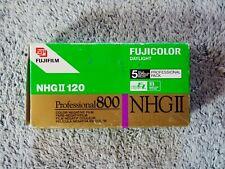 New listing Fujifilm Fujicolor Daylight Nhgii 120 Professional 800 5 Rolls Pack Expired Film