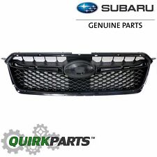 OEM 2015-2016 Subaru Impreza Front Base Grille Assembly Black NEW 91122FJ040