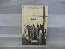 Old postcard Plage avant d'un Torpilleur de 250 Tonnes - Exercice au canon de 88