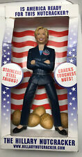 Hillary Clinton  Nutcracker New Inside Slightly Distressed Box (See Pictures)