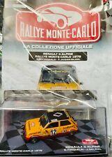 Modellino Auto Macchina Rally Monte Carlo n 80 Renault 5 Alpine 1978 1000 1:43