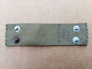 Nuquière de Liner casque US WW2 VOGT 1   original
