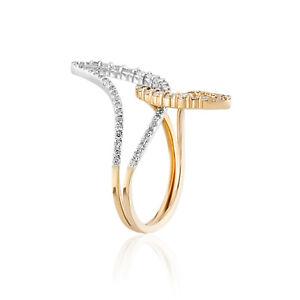 Natural diamond Ring, 18 Carat Rose Gold,  Eternity Ring, Anniversary Ring