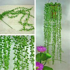 Artificial Fake String Leaves Ivy Vine Plants Hanging Garland Home Wall Decor