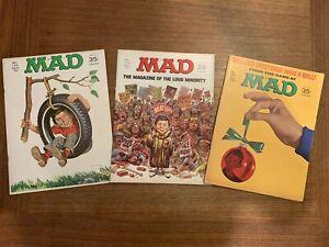 MAD MAGAZINE Vintage Lot Year 1970! #132,134,139