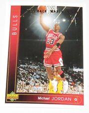 1995 Michael Jordan NBA Upper Deck 'He's Back March 19, 1995' Reprint Card #23.