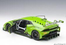 Autoart LAMBORGHINI HURACAN GT3 VERDE MANTIS/PEARL GREEN #63 2015 1/18 New!
