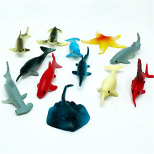 5Pcs Plastic Sea Marine Animal Figures Ocean Creatures Sea Life Crab Kids Toy  I