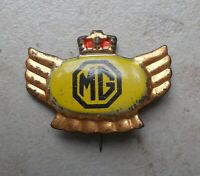 MG UK Auto Anstecknadel Abzeichen stick pin badge 1960s
