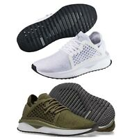 Puma TSUGI Netfit Evoknit Mens Trainers Shinshei Cage Olive White Shoes