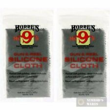 Two Hoppe's 1218 Silicone Gun & Reel Cloths: Polish/Coat/Protect New Fast Ship
