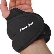 Hand arm Running Weights Set Weight Cuffs 2 x 0.5 kg black gymnastics