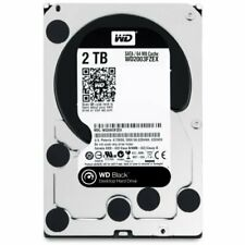 WD Black 2TB Performance Desktop  Hard Disk Drive - 7200 RPM SATA 6 Gb/s 64MB