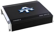 Autotek TA2050.2 2000 Watt 2 Channel Car Audio Amplifier Amp Bridgeable