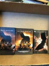 Batman Begins (Dvd, 2005, 2-Disc Set, Deluxe Edition) with Dustcover/Comic