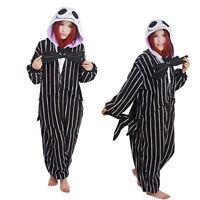 The Nightmare Before Christmas Jack Skellington Kigurumi Costumes Pajamas