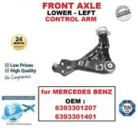 FRONT AXLE LEFT LOWER CONTROL ARM for MERCEDES BENZ OEM : 6393301207 6393301401