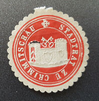 Siegelmarke Vignette Stadtrat zu Crimmitschau (8046-5)