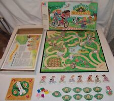 Cabbage Patch Kids Bicycle Race Board Game Milton Bradley