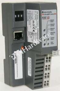 Allen Bradley 1734-AENT Series B EtherNet/IP TP Media I/O Adapter 24V DC