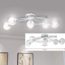 Luxury Ceiling Lamp With Mesh Wire Shades 5 x G9 Bulbs Pendant Lighting Fixture
