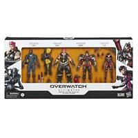 Brand New Overwatch Ultimates Carbon Series Action Figure 4-Pack