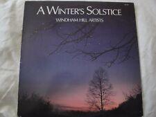 WINDHAM HILL ARTISTS A WINTER'S SOLSTICE VINYL LP 1985 WINDHAM HILL RECORDS EX
