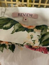 review size 10 skirt As New Condition