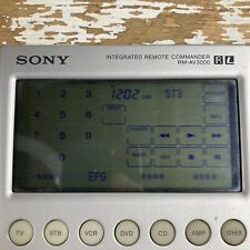 Sony RM-AV3000 Integrated Remote Commander Control Tested And Working