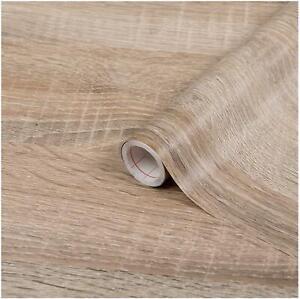 D-C-fix Sonoma Light Oak Wood Effect Beige Self Adhesive Film 2m X 67.5cm