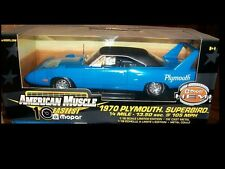 1970 Plymouth Superbird Corporation Blue 1:18 Ertl American Muscle 33016