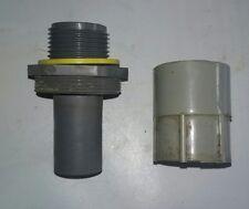 "3/4"" FNMC-B Liquid Tight Arlington Plastic Straight Connector Union F/S"