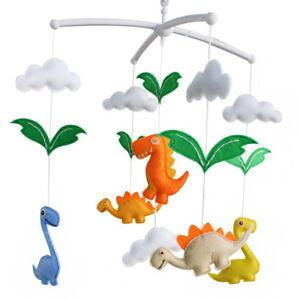 Baby Toys, [Dinosaur] Rotatable Crib Mobile, Creative Decor, Colorful