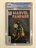 Marvel Fanfare: Facsimile Edition #10 CGC 9.8 Black Widow 2020