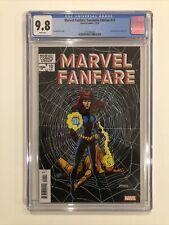 Marvel Fanfare: Facsimile Edition #10 CGC 9.8 Black Widow 2020