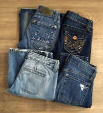 Denim Jeans Skinny Distressed Flare Gap Wallflower Mudd Zana Di sz 1 Lot 4