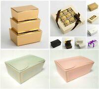Truffle Ballotin Chocolate Boxes - Wedding Favour Handmade Sweets Christmas Gift