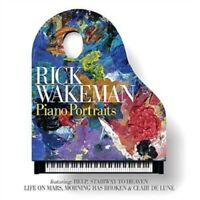 RICK WAKEMAN - Piano Portraits (Life on Mars / Space Oddity) (CD) NEW & SEALED